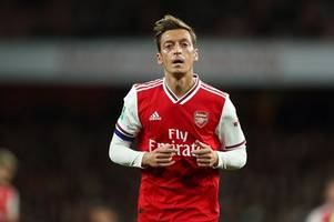 Arsenal boss Unai Emery's decision to axe Mesut Ozil backed by Raul Sanllehi