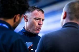 bristol rovers full transcript: graham coughlan on mark little's return; jonson clarke-harris injury; facing mk dons