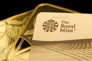 Royal Mint launches solid gold debit card - but it isn't cheap