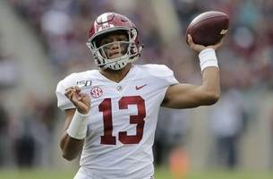 Tagovailoa, No. 1 Tide roll past No. 24 Texas A&M 47-28