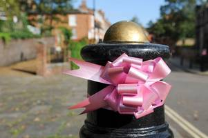 pink bows takeover tamworth in memory of keeley bunker