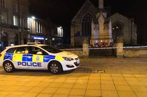 man arrested after man in 70s 'stabbed' in lincoln