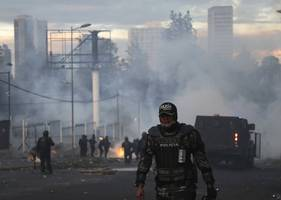 Ecuador indigenous group rejects talks to end protests