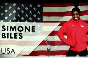 simone biles equals vitaly scherbo's world gymnastics championships medal record