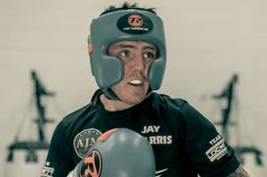 welsh boxer and swansea city fan jay harris secures impressive victory over paddy barnes in belfast