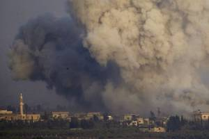 Russia 'bombed four hospitals in Syria in four hours', report finds