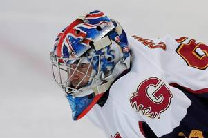 arsenal and chelsea fans will love what petr cech did on ice hockey debut for guildford phoenix