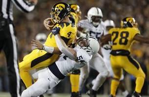 No. 10 Penn State holds off No. 17 Iowa 17-12