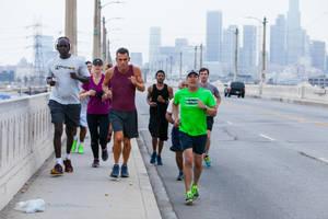 'skid row marathon' film review: documentary puts homeless runners in soft focus