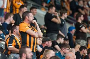 hull city to review ticket prices and 'in favour' of safe standing at the kcom stadium