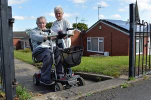 'it feels like i'm in jail...' retired potter graham is stuck at home after being caught up in council ramp row