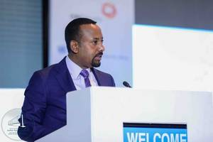 "ethiopian pm abiy ahmed, awarded nobel prize, celebrated for ""remarkable change"" in horn of africa"