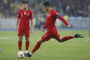 ronaldo fires 700th career goal in euro 2020 qualifier against ukraine