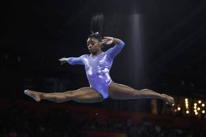 simone biles becomes most decorated gymnast in history