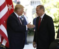 thanks to trump's business schemes in turkey and saudi arabia, more people will die
