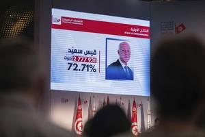 tunisia's next president: kais saied wins 72% of votes, electoral commission confirms