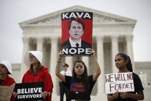 would brett kavanaugh be on the supreme court if the fbi had fully probed sexual misconduct claims?