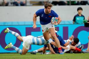 The Rugby World Cup evening headlines as France suffer major blow, Ireland lose star player and Aussies clash with English press