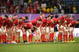 the new world rugby rankings table that suggest wales have the rugby world cup quarter-final opponents they want