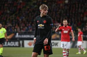 man utd in programme blunder after academy star ignored on debut