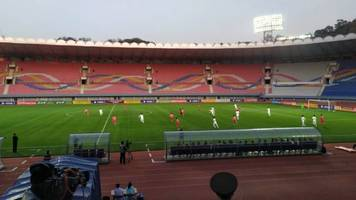 North Korea Hosts Historic Inter-Korean World Cup Qualifier Match