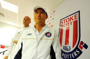 under fire bulgaria manager received oatcakes as 'peace offering' at stoke city