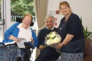 tyspane care home celebrates mr & mrs grogan's silver wedding anniversary
