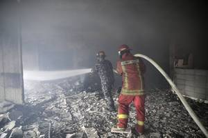 lebanese government under fire over uncontrollable forest blaze