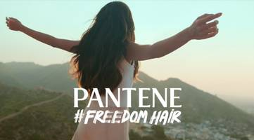 pantene launches its new #freedomhair campaign, inspiring girls to write their own story