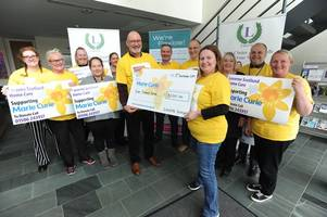 charity champs take part in orkney treasure hunt for marie curie