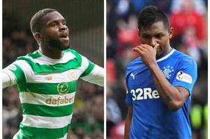 Odsonne Edouard Celtic hype is misplaced and Rangers striker Alfredo Morelos deserves the acclaim - Hotline