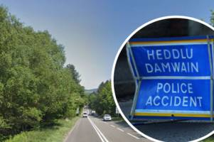 Live updates as serious crash shuts A465 Heads of the Valleys Road