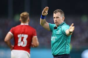 Rugby World Cup quarter-finals referees revealed as Nigel Owens gets huge game and Jaco Peyper takes charge of Wales v France