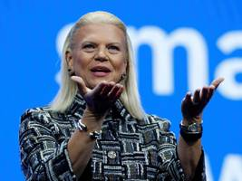'patience is wearing thin' as ibm reports yet another quarter of falling revenues, but its $34 billion red hat buy is a bright spot (ibm)