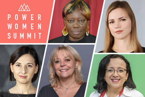 award-winning foreign journalists talk high-risk reporting at power women summit 2019