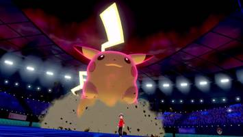 huge pikachu and other amazing new 'sword and shield' pokemon