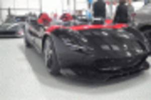 Ferrari lover Gordon Ramsay allegedly the owner of this Monza SP2