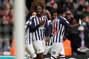 west brom at the top, leeds united 10th: how the championship could change this weekend