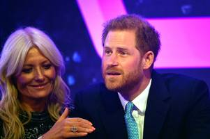 prince harry chokes up during emotional wellchild awards speech