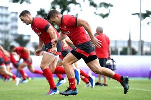 rugby world cup live news: wales train in front of the media, injury updates from inside camp and scotland react to misconduct charges