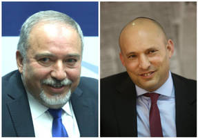 bennett and lieberman push for unity government without joint list
