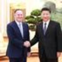 former prime minister john key met with chinese president xi jinping in beijing this week