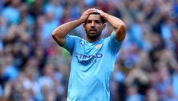 Manchester City Star Sergio Agüero Escapes Unhurt From Minor Car Crash