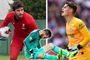 fantasy football tips: five best options to replace injured david de gea