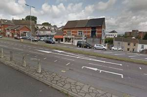 woman suffers head injuries in swansea city centre mugging
