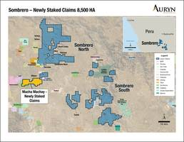 Auryn Stakes Additional Highly Prospective Claims at Sombrero and Provides Permitting Update