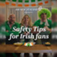 'you might be in for some upcoming turbulence': air new zealand's safety instructions for ireland fans