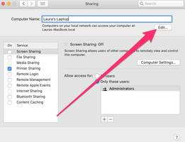 How to change the name of your Mac computer in 4 steps, so that it's easier to find on your local network and AirDrop