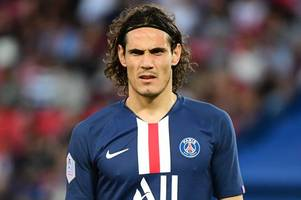 man utd have four-man striker transfer shortlist with edinson cavani an option