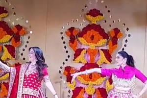 shloka mehta's adorable dance with nita and isha ambani at friend's sangeet is unmissable!